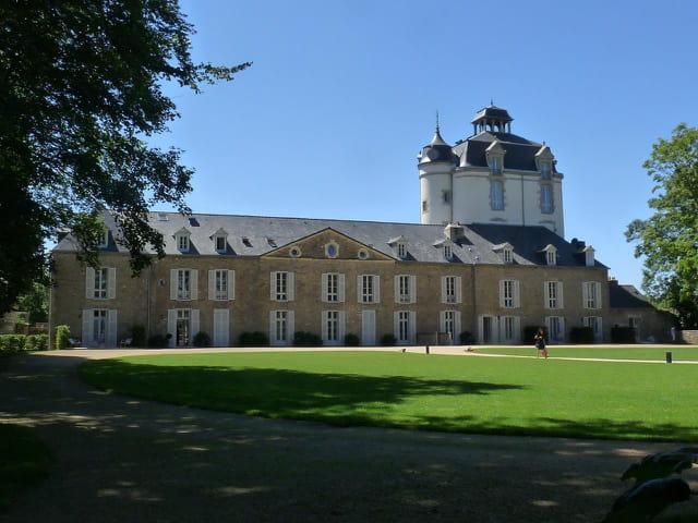 Le Château de Kéravéon - verso (Juliane)