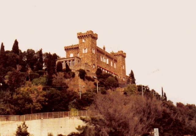 Le chateau de la Napoule...