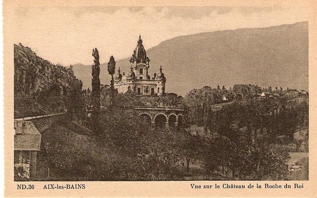 Le château de la Roche du Roi