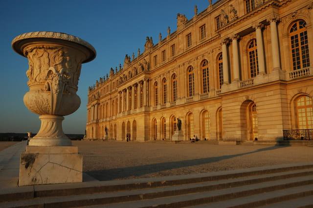 Le Château de Versailles au couchant