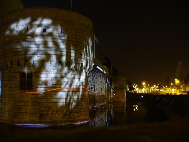 Le chateau des ducs by night