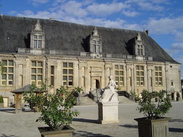 Le château du grand jardin
