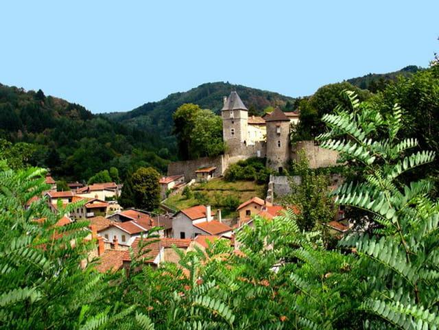 Le château sur la colline