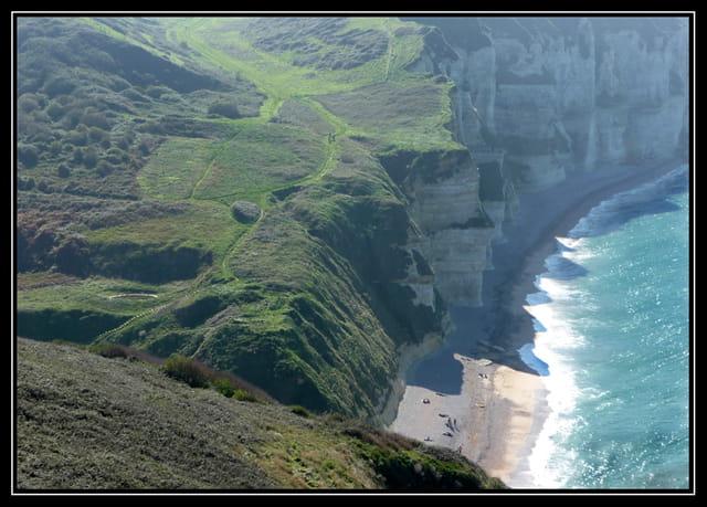 Le chemin du littoral.