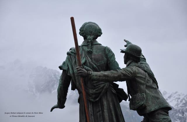 Le chemin du Mont-Blanc