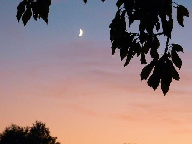 Le ciel du soir