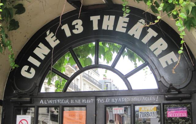 Le Ciné 13 Théâtre, à Montmartre