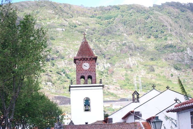 le clocher de l'église de Machico