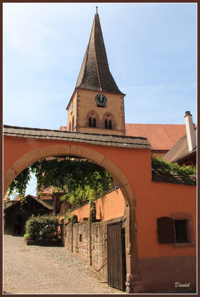 Le clocher de Niedermorschwihr