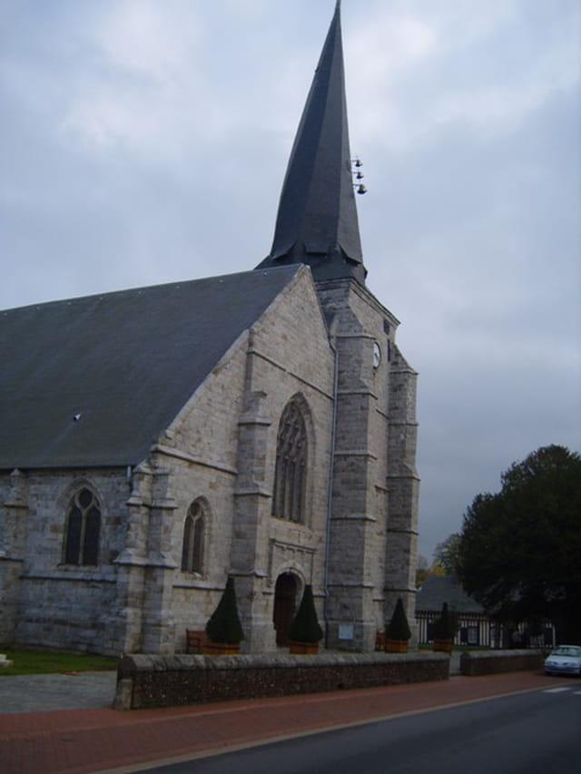Le clocher tors d' Offranville