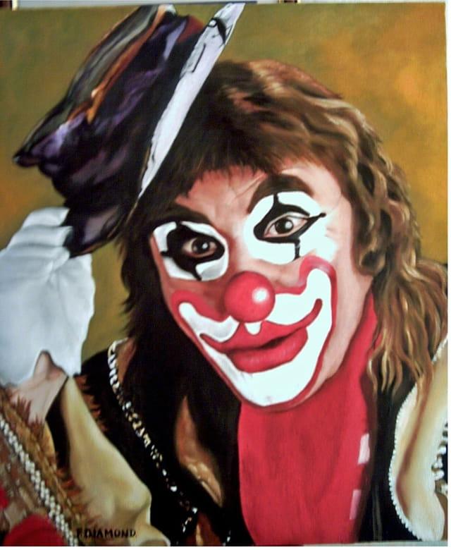 Le clown vous salue