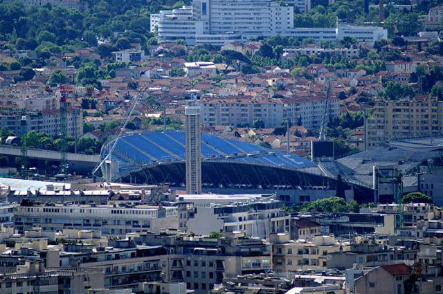 Le coeur de Marseille : le vélodrome