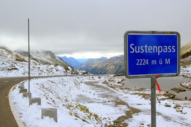 Le Col du Susten en Suisse (2224 m)