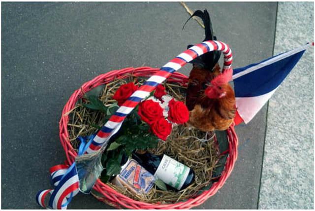 Le coq tricolore