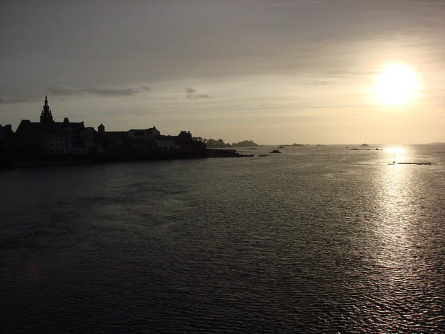 Le couchant de Roscoff