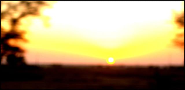 Le coucher de soleil au Maroc