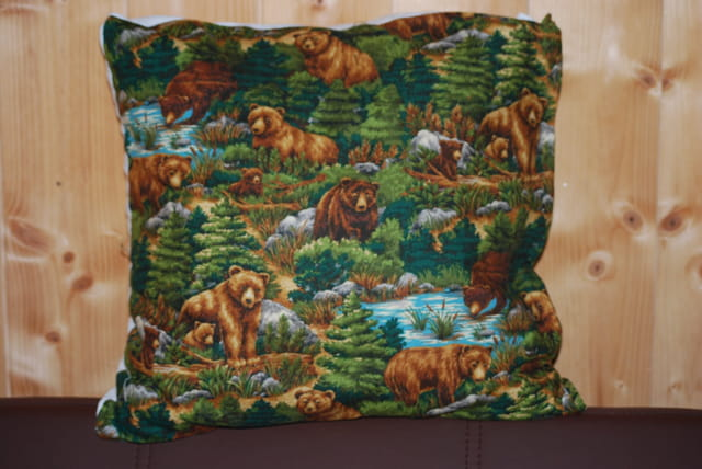 le coussin ours
