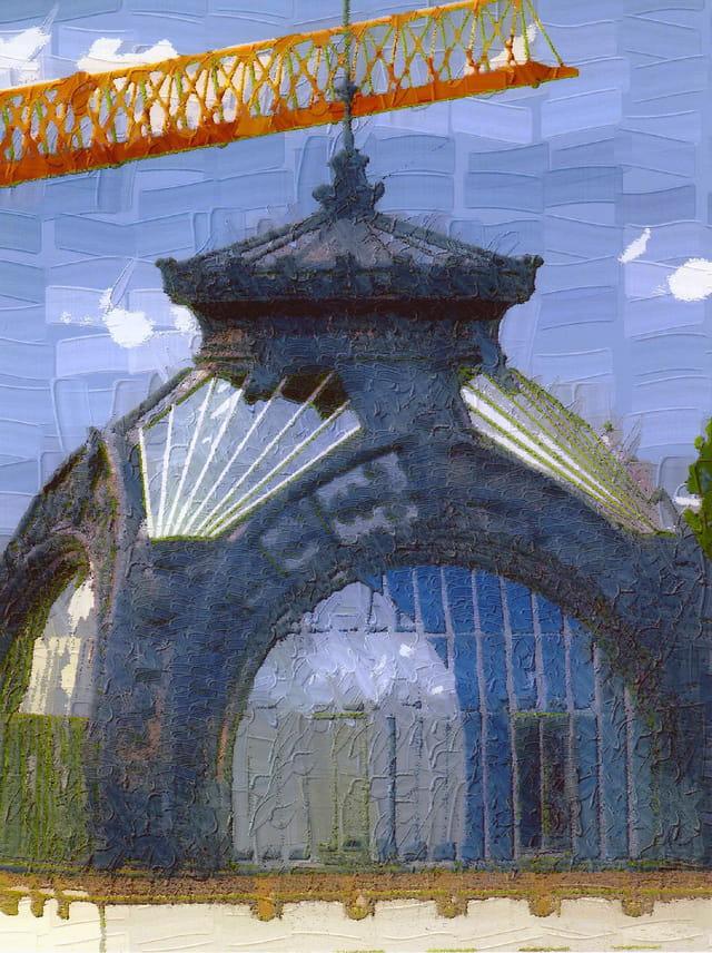 Le dôme du palais Lumière