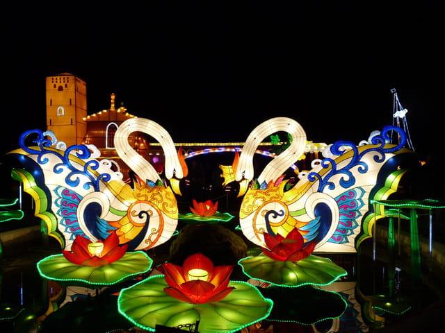 Le festival des lanternes chinoises