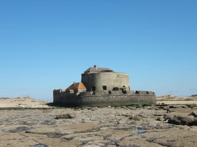 Le fort VAUBAN côté mer