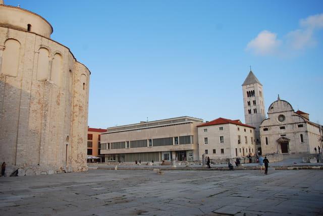 le forum romain de Zadar