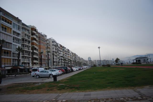 le front de mer à Izmir