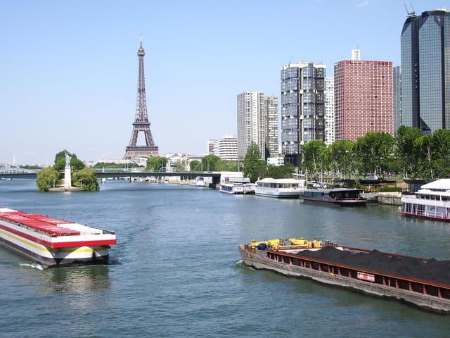 Le front de Seine