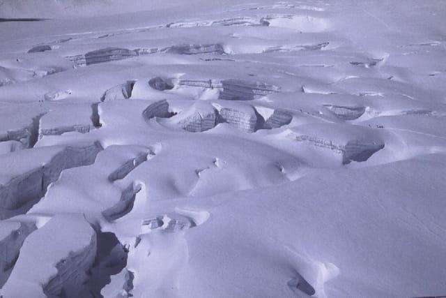 Le glacier du géant