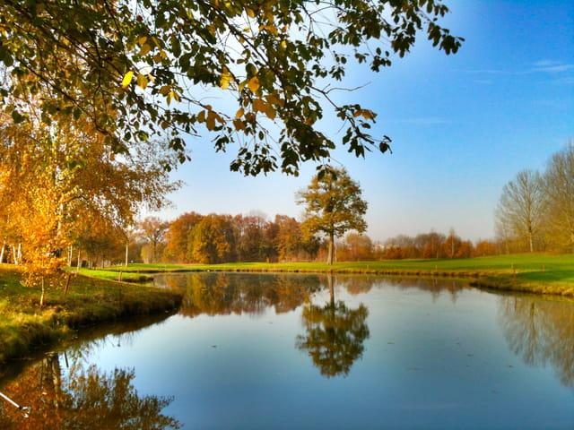 Le golf de l'ISLE ADAM automne 2011.