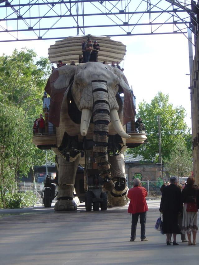 Le grand éléphant de l'île de Nantes