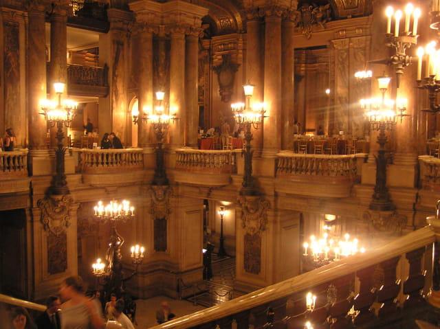 Le grand étage de l'Opéra