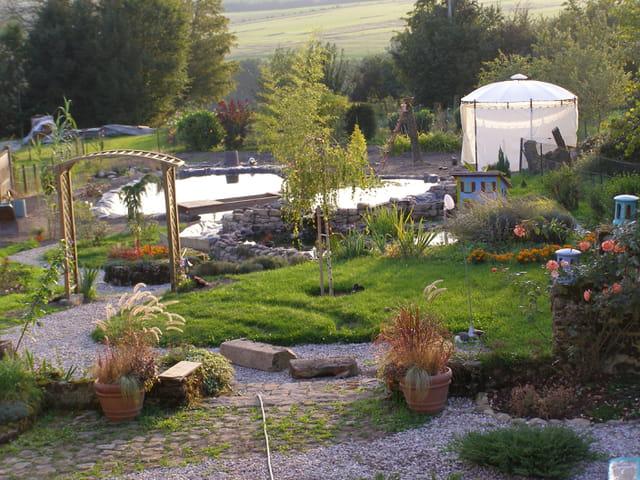 Le jardin-bassin