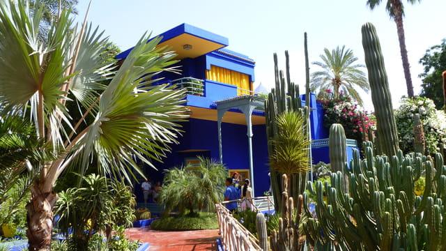 Le jardin de majorelle marrakech par catherine raja sur for Les jardin de catherine