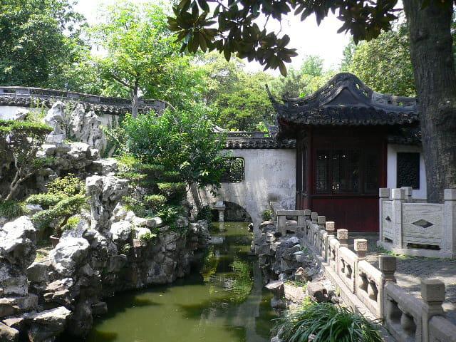 le jardin yu par dominique lo verde sur l 39 internaute