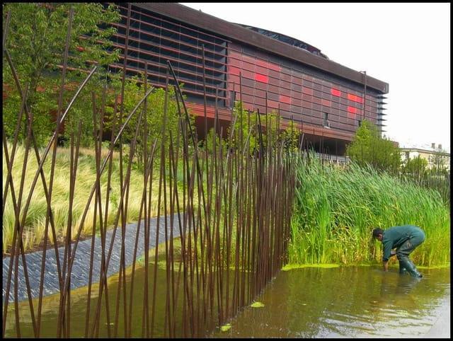 Le jardinier du musée quai branly