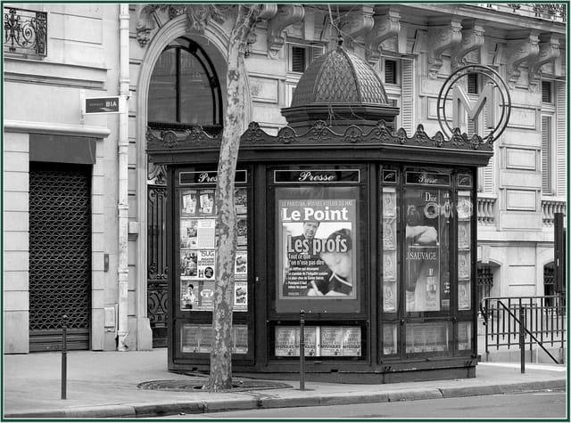 Le kiosque à journaux