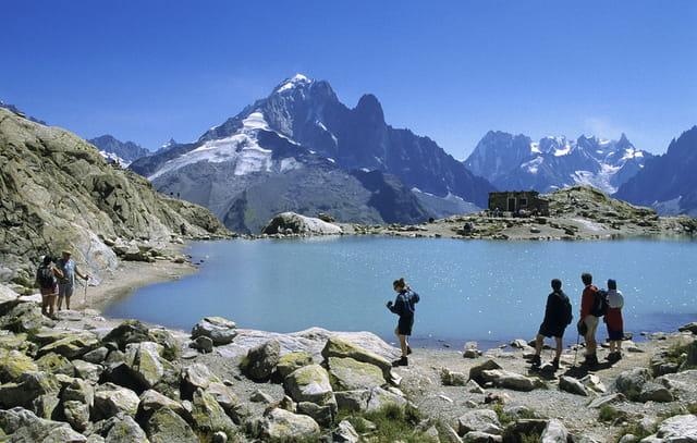 Le lac Blanc à Chamonix-Mont-Blanc