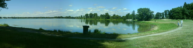 Le lac de Bordeaux lac