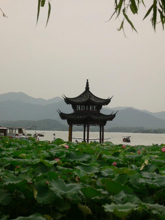 Le lac de hangzhou