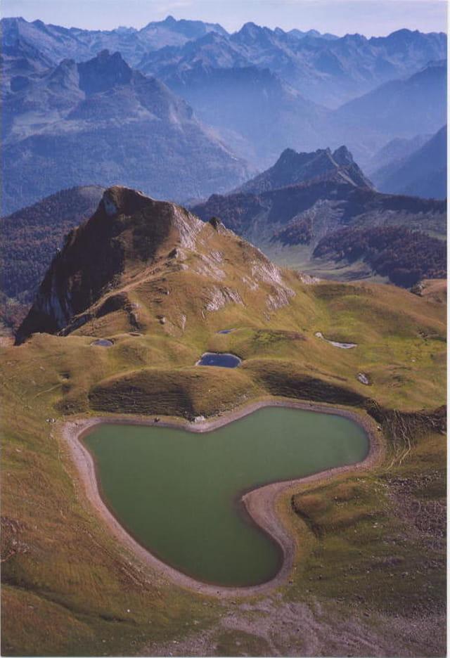 Le lac du coeur