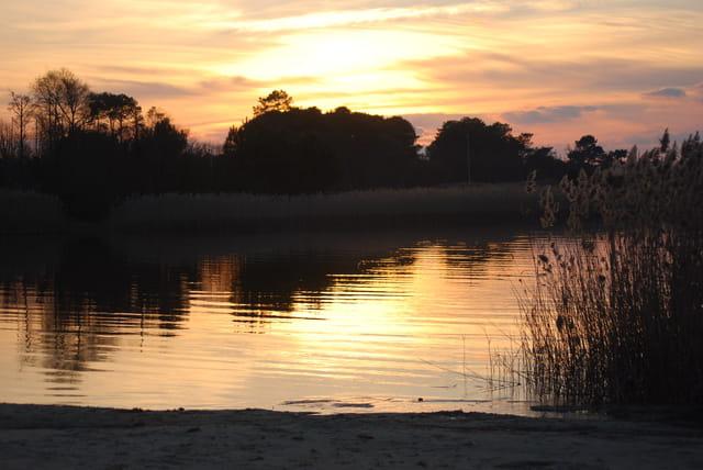 le lac en or