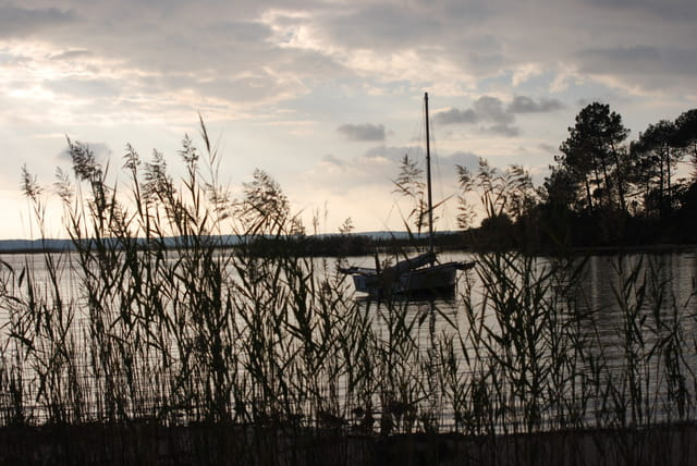le lac sauvage hors saison