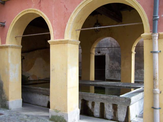 Le lavoir de la Fontana de Mèdge