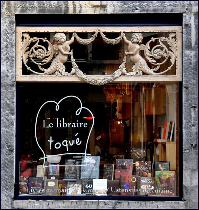 Le libraire toqué....