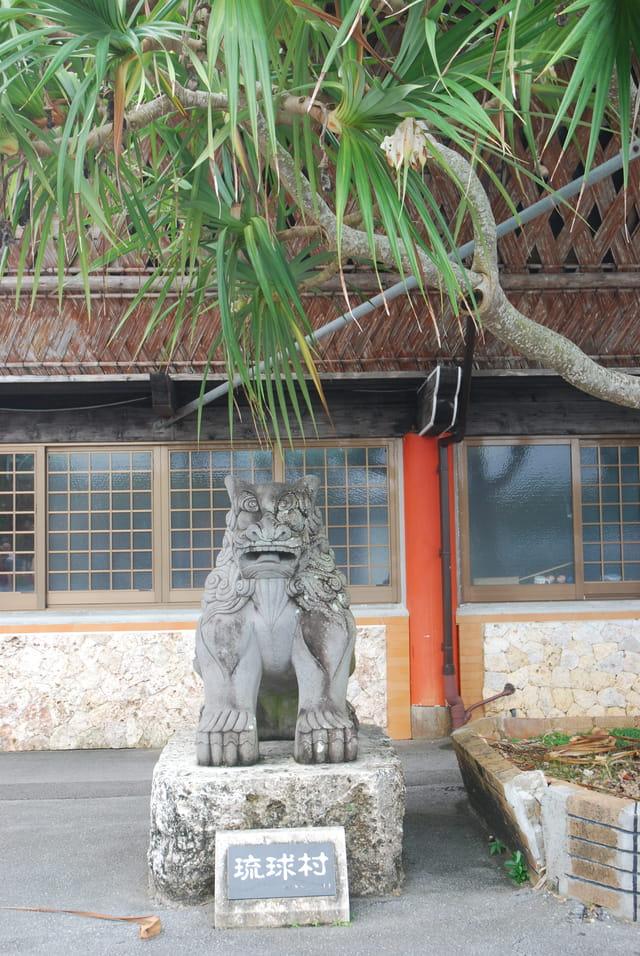 le lion protecteur