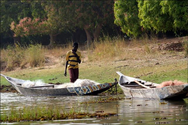 Le long du niger