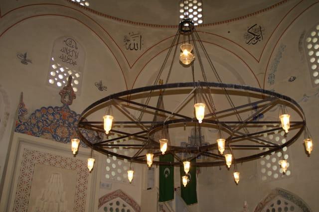 Le lustre de la mosquée