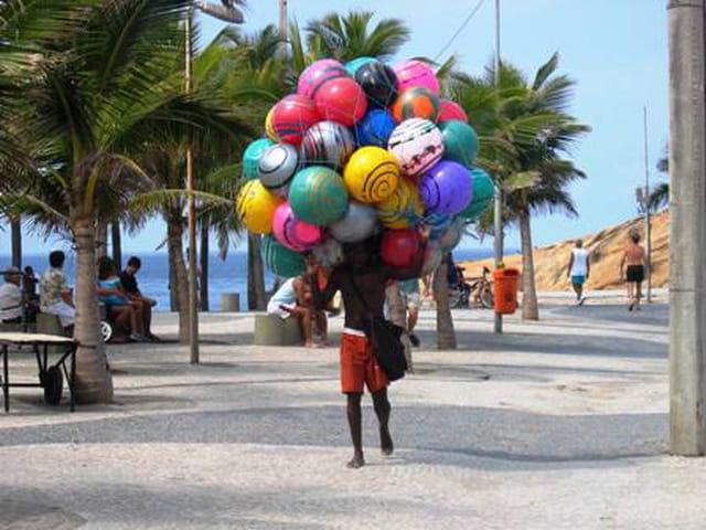 Le marchand de ballons
