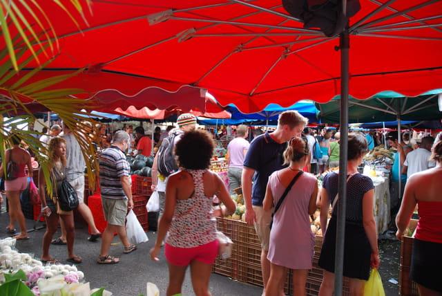 le marché de Saint Paul