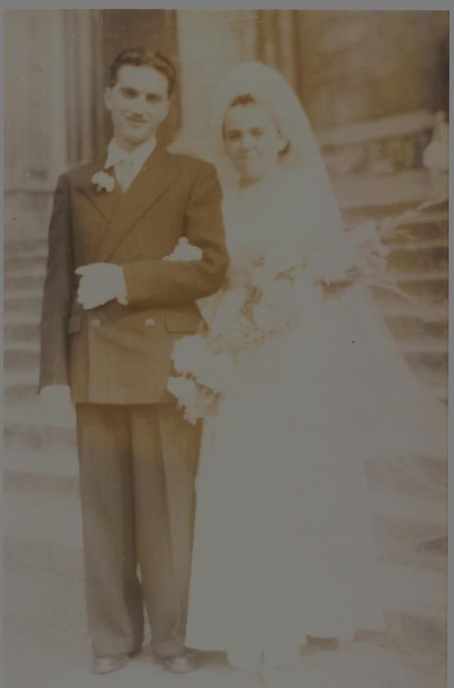 Mariage de mes beaux parents